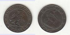 Centimo 1870 Spanien Prov. Regierung KM#660 stampsdealer