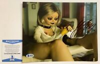 Jennifer Tilly Autographed Tiffany Bride Of Chucky 8x10 Photo Signed Beckett COA