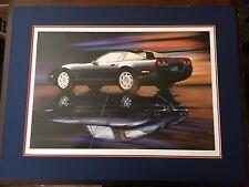 Hand Signed / Numbered zr-1 Black Corvette Print