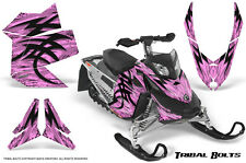 SKI-DOO REV XP SNOWMOBILE SLED CREATORX GRAPHICS KIT WRAP TRIBAL BOLTS PINK LITE