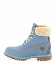 Timberland x Just Don Premium 6 inch Blue Denim Boots Size 10 US