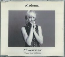 MADONNA - I'LL REMEMBER 1994 GERMAN CD SINGLE W0240CD MASTERED BY NIMBUS WE739