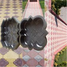 Pavimentazione in calcestruzzo (Set di 2): vialetto da giardino soletta BRICK PLASTICA Pavimento Piastrella MUFFA 1