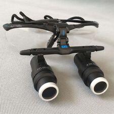 4.0X420mm Dental Medical Binocular Loupes Magnifying Glasses Maginifier FD-501K