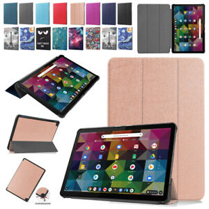 Smart PU Leather Stand Thin Case Cover For Lenovo Chromebook Duet 10.1 in Tablet