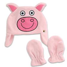 Tiny Tillia Piggy Pig Hat & Mitten Costume Gift Set Girls Kids Toddler Size S/M