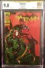 DC Comics BATMAN #43 CGC SS 9.8 Gold Foil Tom King POISON IVY JOKER HARLEY QUINN