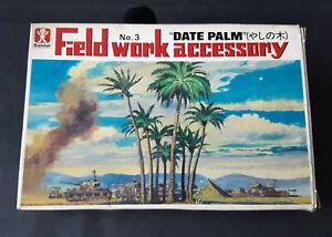"Vintage & rare 1/48 Bandai Field Work Accessory No.3 ""DATE PALMS"" model kit"