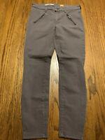 anthropologie pilcro and the letterpress Pants Size 29 Zipper Legs Gray