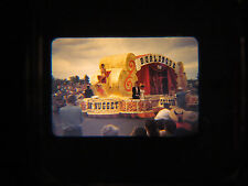 1954 35mm Kodachrome Slide Las Vegas Helldorado Golden Nugget Parade Float