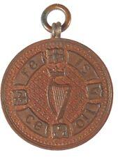 Ireland harp 1901 PRIZE MEDAL bronze 32mm