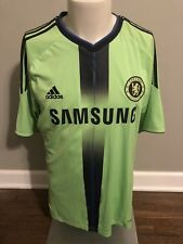 d6e5e01b51d3 Adidas 2010-11 Chelsea Player Issue 3rd Away Techfit Jersey Football Shirt  Large