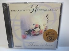 THE COMPLETE WEDDING ALBUM ~ THERE IS LOVE ~ 2-CD ~ 1998 TELARC ~ NEW CD