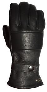 ESKA Cool Black Motorcycle Gloves RRP £169 FAST & FREE UK DELIVERY