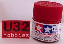 Tamiya Mini Acrylic X-7 Red 10ml 81507