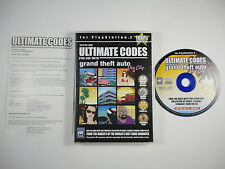 ¤ Ultimate Codes Grand Theft Auto Vice City ¤ Complete Good! PlayStation 2 PS2
