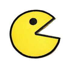 Yellow Emoji PAC-MAN Pixels Arcade Video Game Classic Shirt Backpack Iron Patch