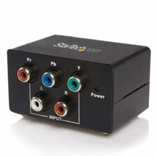 Startech.com Cpnt2vgaa Convert Component [ypbpr] Signal To Vga Along With 2