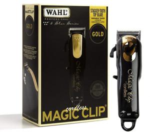 Wahl 8148-100 5 Star Series Magic Clip Cord/Cordless Clipper Black & Gold
