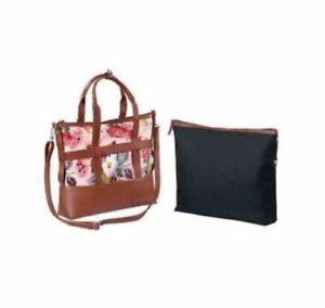 Women  Avon Designer Shoulder Bag Tote Large Handbag I Pad  Pocket Ladies Bags