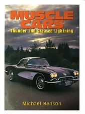 """""""Muscle Cars--Thunder and Greased Lightning""""--brand new book--lot of info + pics"""