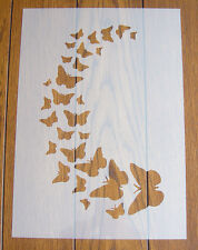 Butterfly Stencil Mask Reusable Mylar Sheet for Arts & Crafts