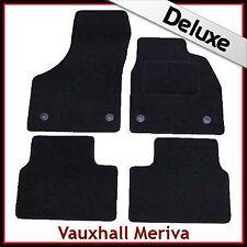 Vauxhall Meriva B Mk2 2010 en Adelante a Medida Alfombrillas De Coche De Lujo 1300g Alfombra Blakc