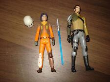 """Star Wars """" Hasbro Rebels Ezra Bridger Kanan Jarrus  """" Figuren"""