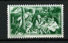 España 1965 Sg # 1752 Navidad Mnh #a 3500