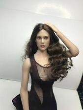 PEAK TOYS 1/6 Monica Bellucci Head Sculpt For PT005 Hot Toys Kumik Female