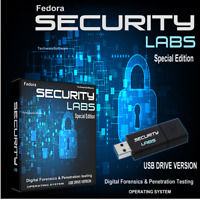 FEDORA SECURITY LAB SPECIAL EDITION 16GB USB Ethical Hacking Digital Forensic