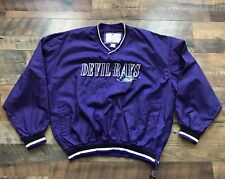 Vintage Tampa Bay Devil Rays Purple Windbreaker Mlb Jacket (Sz Xl) Supreme 90s