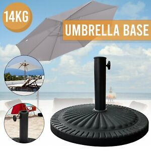 14kg Heavy Duty Resin Parasol Base Concrete Umbrella Stand Garden Outdoor Patio