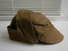 Soviet Soldiers Cap Ushanka Hat Russian Military Uniform USSR Army Surplus 1980s