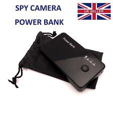 Movimiento Activado Espía Cámara DVR Power Banco Portátil Batería 720 HD Video Cámara