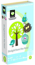Cricut Cartridge - Straight from the Nest Cartridge - Birds, Trees, Birdcages