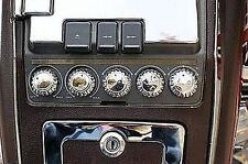 Chrome Radio Knobs - Set of 5 - Honda Goldwing GL1500 1988-2000 (15673-235)