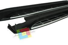 PEDANE LATERALI HYUNDAI TUCSON LT III 2015+ SOTTO PORTA ACCIAIO INOX E PVC