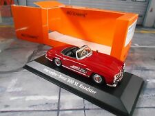 Mercedes Benz 300sl 300 SL Roadster w198 rojo red 1955 maxichamps Minichamps 1:43