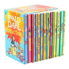 Roald Dahl Collection 16-Book Boxed Set BFG TWITS BOY (2018 Edition) Paperback