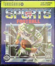 TV Sports Football - TurboGrafx - New & Sealed!