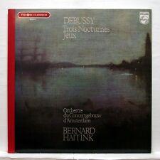 BERNARD HAITINK - DEBUSSY 3 nocturnes, jeux PHILIPS LP NM