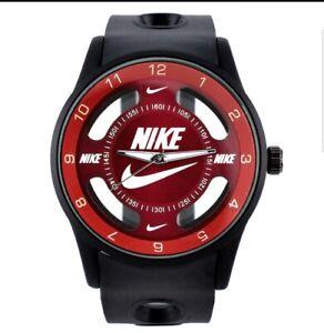 Nike Watch Unisex Silicone Strap Band Big Dial Analog Time Quartz for Men Women