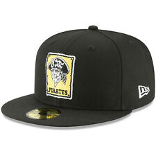 Pittsburgh Pirates New Era Cooperstown Collection 59FIFTY Fitted Hat - Black