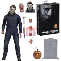 "Halloween Michael Myers 7"" Ultimate Action Figure 2018 Movie Collection"