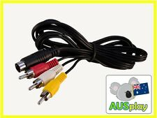 NEW TV AV Cable Adaptor Lead For Sega Mega Drive Genesis 2/3 Console Cord MD II