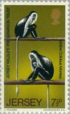 JERSEY - 1971 - King Colobus (Colobus polykomos) - MNH Stamp - Scott #51