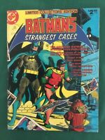 Batman's Strangest Cases - DC C-59 Treasury - VG/FN  Off-White Pages