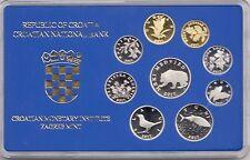 CROATIA MONETARY INSTITUTE CROATIA BANK SET 2017 year   ISSUED  ONLY 500 SETS !