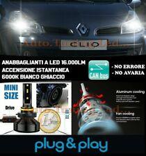 RENAULT CLIO II ANABBAGLIANTI LAMPADE LED 16.000LM NO AVARIA LUXEON ZES CH